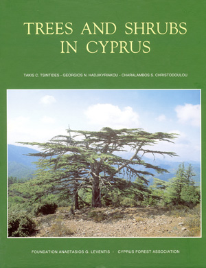 Book: Trees and Shrubs in Cyprus - Tsintides T. al